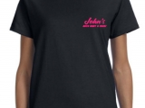 LADIES BLK T PRF